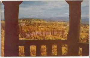Shelter at Sunset Point, Bryce Canyon National Park, Utah, unused Postcard