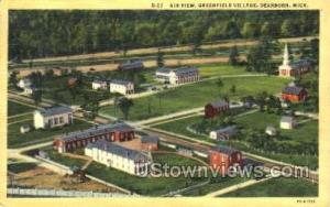 Greenfield Village Dearborn MI Unused