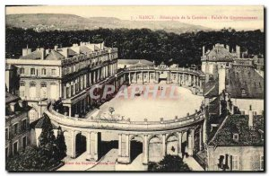 Old Postcard Nancy Hemicycle of Career Government Palace