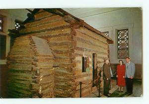 Vintage Postcard Abraham Lincoln Boyhood Home Knob Creek Hodgenville Ken  # 2509