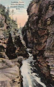 New York Ausable Chasm Looking Down From The Mecca 1911 Curteich