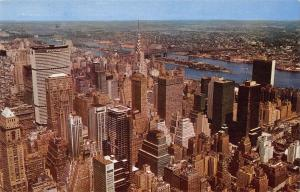 BR99028 new york city from the mepire state building  usa