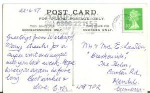 Bubbles, by Sir John Millais, 1997 used Postcard