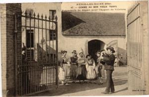 CPA NÉRIS-les-BAINS - Comme au Bon Vieux Temps-Préparatifs de départ (262929)