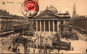 Belgium Brussels La Bourse 1923