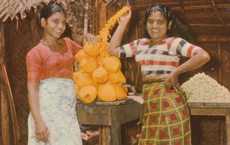 PASYALA, Fruit Sellers, Ceylon,1950-1960s
