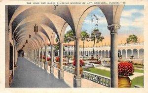 The John and Mabel Ringling Museum of Art Sarasota, Florida Postcard