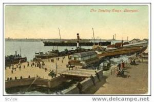 Oceanliner, The Landing Stage, Liverpool, Uk, PU 1908