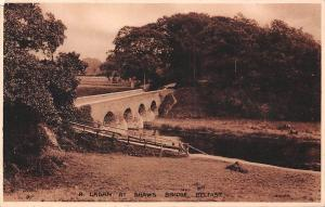 N. Ireland Belfast, R. Lagan at Shaws Bridge, bruecke, Pont