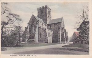 NORTHWEST, Egland, 1900-1910's; Carlisle Cathedral