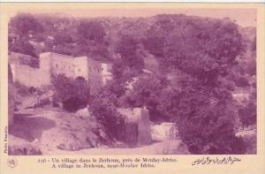 Morocco Moulay-Idriss Village In Zerhoun 1920s-30s