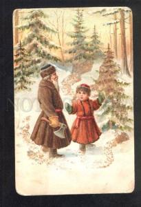 036314 Grandfather Frost SANTA CLAUS Vintage RUSSIAN