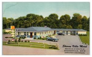 Sharon Villa Motel, Sharonville, OH Postcard