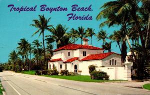 Florida Boynton Beach Beautiful Residence On Ocean Boulevard 1968