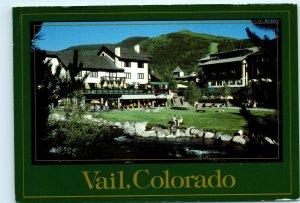 Vail Colorado CO Gore Creek 1980s Vintage 4x6 Postcard D34