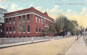 St. Aloysius School For Boys, Nashua, New Hampshire, 1910-1920s