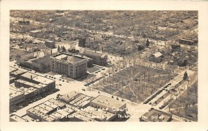 G23/ Greeley Colorado RPPC Postcard Birdseye Court House Birdseye