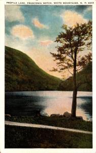 New Hampshire White Mountains Franconia Notch Profile Lake