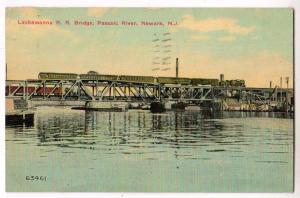 Lackawanna RR Bridge, Passaic River, Newark NJ