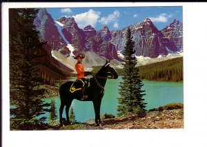 Royal Canadian Mounted Police, RCMP,  On Horseback, Rocky Mountains