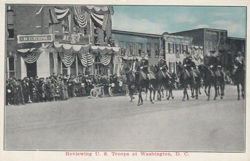 Washington, D.C., 00-10s , Reviewing Troops