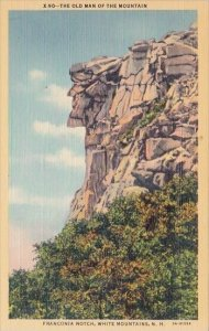 The Old Man Of The Mountain Franconia Notch White Mountains New Hampshire