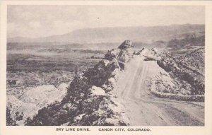 Colorado Canyon Sky Line Drive Albertype