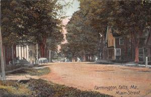25281 ME, Farmington Falls, Main Street