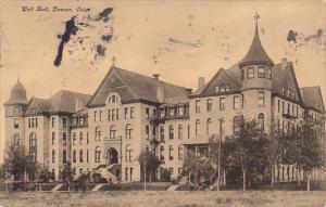 Colorado Denver Wolf Hall 1908