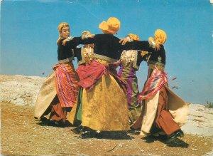 Turkey Pontos Postcard ethnic type native women folk outfits dance Kotsari
