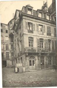 CPA Paris 2e (Dep.75) - Hotel dans la cour du 21, rue Poissonnière (54800)