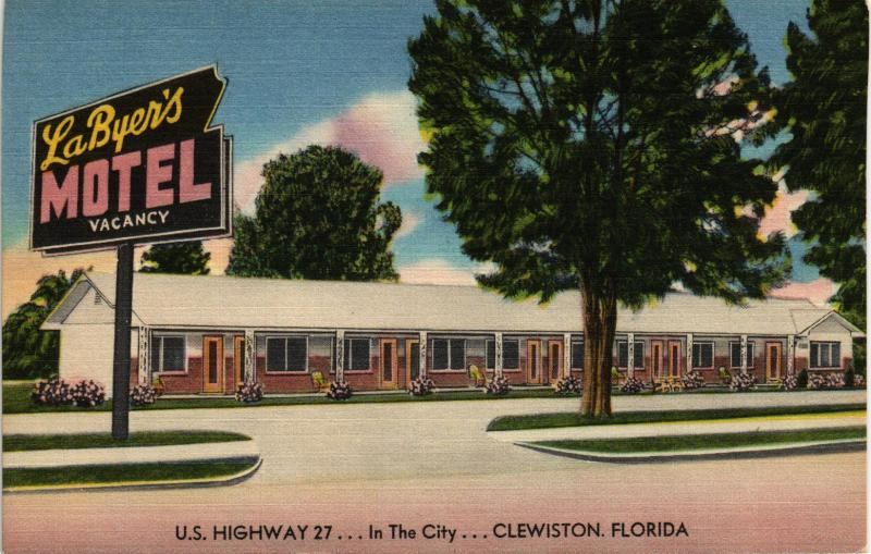 CLEWISTON FLORIDA LABYERS MOTEL