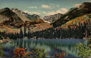 Colorado Rocky Mountains Bear Lake Curteich