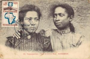 Tananarive Types de Femmes Hova Madagascar 02.65