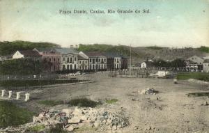 brazil, CAXIAS, Rio Grande do Sul, Praca Dante (1914) Stamp