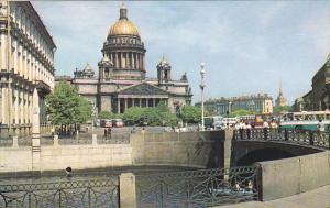 Russia Leningrad Catedral de San Isaac