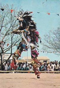 Nairobi Stilt Dancer African Postcard