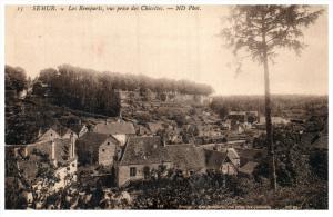 France Semur   Aerial View of Commune
