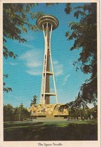The Space Needle Seattle Washington 1981
