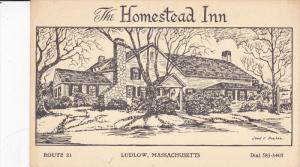 LUDLOW, Massachusetts, 1900-1910's; The Homestead Inn