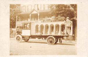 E9/ Pennsylvania c1920 RPPC Postcard Starrucca Viaduct Model Erie Railroad Truck