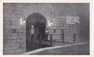 Entrance to Inner Court Sentry Duty,  Fort Henry,  Ontario,  Canada,  40-60s