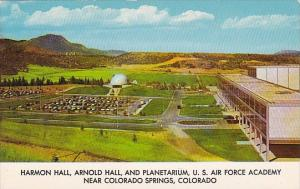 Colorado Springs Harmon Hall Arnold Hall And Planetarium U S Air Force Academy