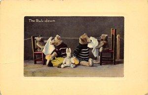 The Rub Down Bear 1910