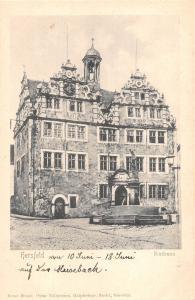 BG41207 hersfeld rathaus    germany