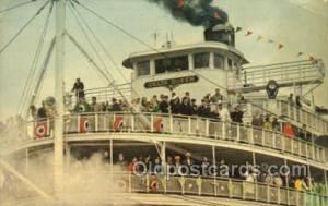 Delta Queen Steamer, Steam Boat, Steamboat, Ship, Ships, Postcard Post Cards ...