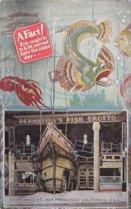 Californa San Francisco A Fact Fish Caught At S A M Served Here The Same Day