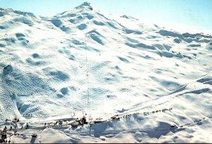New Zealand Otago Coronet Peak Aerial View Of Ski Fields