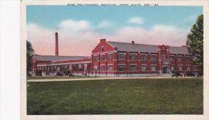 Indiana Terre Haute Rose Polytechnic Institute
