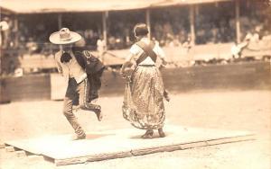 Mexico Postcard Tarjeta Postal Dancing